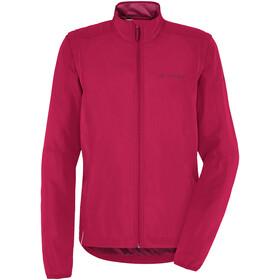 VAUDE Dundee Classic Zip-Off Jacket Women crimson red